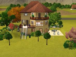 Sims 3 — Western Lane 5 by Silerna — Western lane 5 is nice meditarrean/french/spanish lot for your sims. It can be both