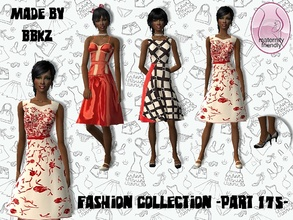 Sims 2 — Fashion Collection - part 175 - by BBKZ — Available as everyday & formal for YAs/adults. Maternity frienldy.