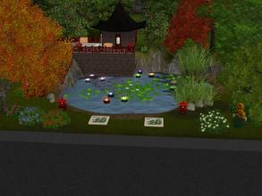 Sims 3 — Ying Yan Garden by Silerna — Ying Yan Garden is a beautiful Chinese garden for in your simtown (or vacation