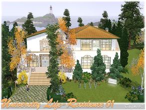 Sims 3 — College Housing-01 [Full Furnished]  by TugmeL — Student Residential-01 *Created with Seasons and University
