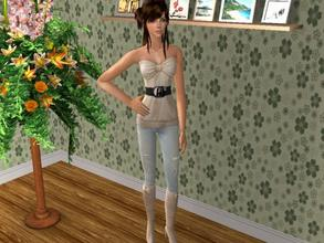 Sims 2 — Jessie by blueeyes58972 — This is Jessie. She is wear whole outfit with boots. Enjoy :)