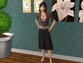 Sims 2 — Sam by blueeyes58972 — This is Sam. She is beautiful elder for your game. Enjoy ^_^