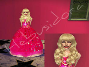Sims 2 — Barbie~A Fashion Fairytale by hebusidora by hebusidora2 — She\'s very pretty but she\'s very capricious.