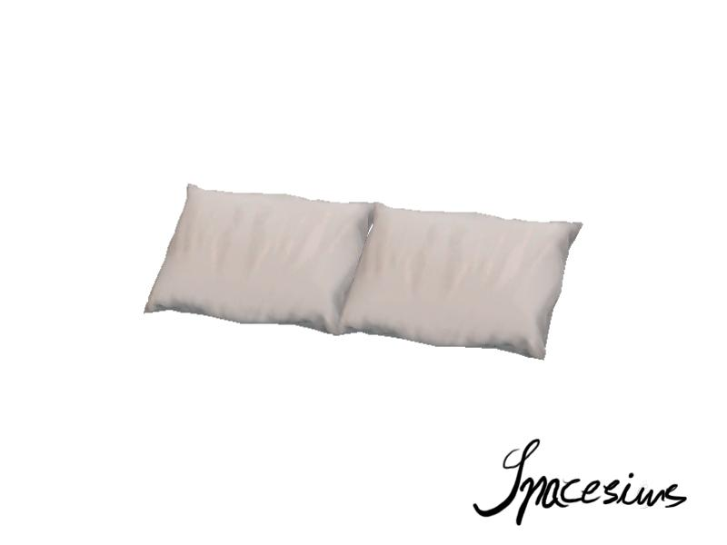 spacesims 39 kvarc bedroom bed pillows