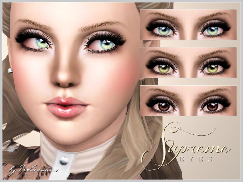 Sims  Realistic Dog Eyes