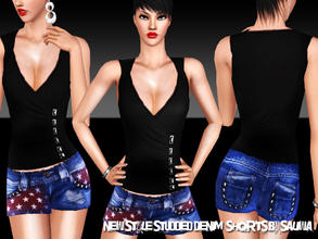 Sims 3 — New Design Shorts for Ladies by saliwa — New Design Shorts with accessories. I hope you like it.