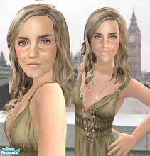 Sims 2 — Emma Watson by mimmuzka — Emma\'s the most know for her role as Hermione Granger in Harry Potter movies and now