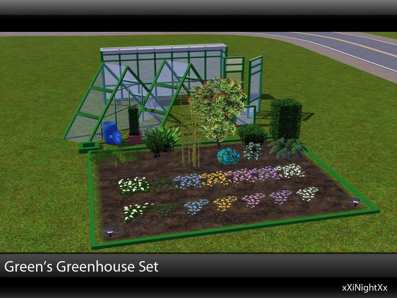 Xinightxx S Green S Greenhouse Build Set