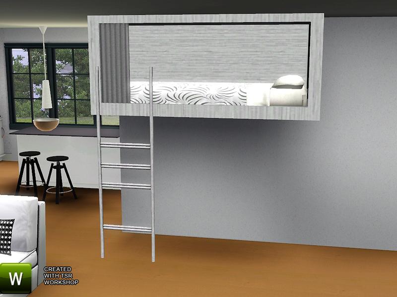sims 3 loft bed 1