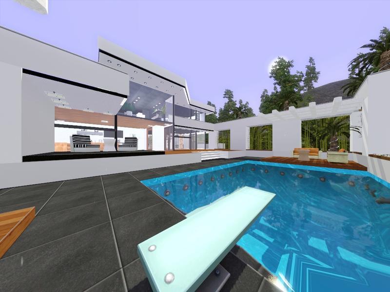 Gox35 39 s modern minimalist villa 1300 for Modern minimalist villa
