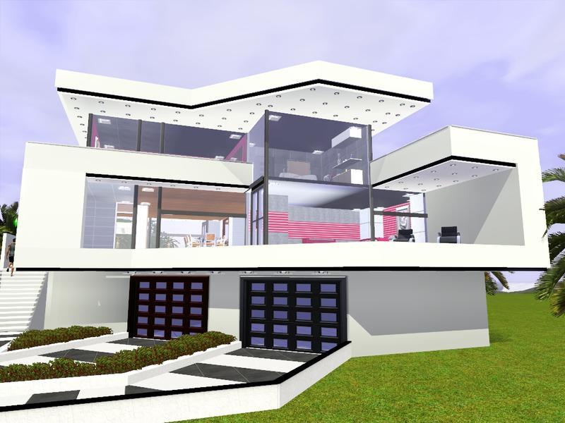 Gox35 39 s modern minimalist villa 1300 fixed for Modern minimalist villa