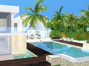 Sims 3 — Sunrise Avenue 141 by sinhhala — This modern estate consists of main living house and one guest house. The main