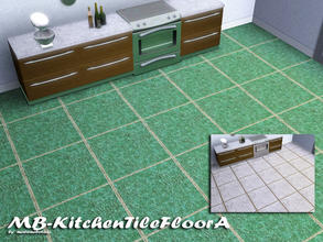 Sims 3 — MB-KitchenTileFloorA by matomibotaki — MB-KitchenTileFloorA, matching floor tile to MB-KitchenTileA, with 2