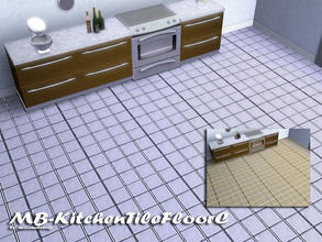Sims 3 — MB-KitchenTileFloorC by matomibotaki — MB-KitchenTileFloorC, matching floor tile to MB-KitchenTileC, with 2