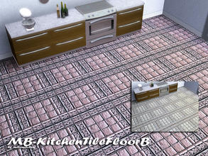 Sims 3 — MB-KitchenTileFloorB by matomibotaki — MB-KitchenTileFloorB, matching floor tile to MB-KitchenTileB, with 2
