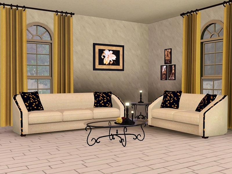 Flovvs Beige Living Room