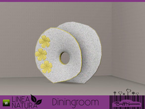 Sims 3 — Linea Natura Dining Sculpture Flower by BuffSumm — Part of the *Linea Natura Series - Dining* ***TSRAA***
