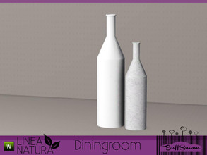 Sims 3 — Linea Natura Dining Bottle double by BuffSumm — Part of the *Linea Natura Series - Dining* ***TSRAA***