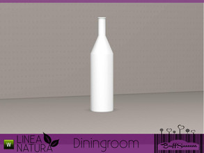 Sims 3 — Linea Natura Dining Bottle empty by BuffSumm — Part of the *Linea Natura Series - Dining* ***TSRAA***