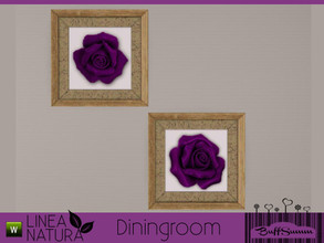 Sims 3 — Linea Natura Dining Painting 2 by BuffSumm — Part of the *Linea Natura Series - Dining* ***TSRAA***