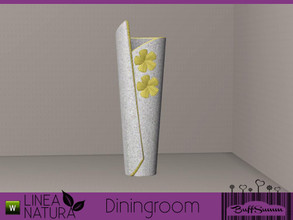 Sims 3 — Linea Natura Dining Vase Flower by BuffSumm — Part of the *Linea Natura Series - Dining* ***TSRAA***
