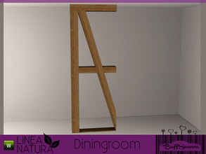 Sims 3 — Linea Natura Dining Roomdivider by BuffSumm — Part of the *Linea Natura Series - Dining* ***TSRAA***