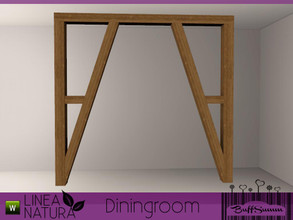 Sims 3 — Linea Natura Dining Arch by BuffSumm — Part of the *Linea Natura Series - Dining* ***TSRAA***