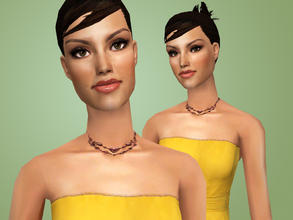 Sims 2 — Phoebe Tonkin by Cleotopia — The American/Australian Actress Phoebe Tonkin, most well known for her role in H2o