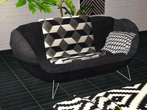Sims 2 — Leftboy - loveseat by steffor —
