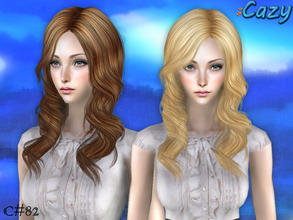 Sims 2 — Emma Hair - Mesh by Cazy — Mesh file