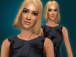 Sims 2 — Mia Wasikowska by Cleotopia — The young american actress, Mia Wasikowska, best known for her role in \'Alice in