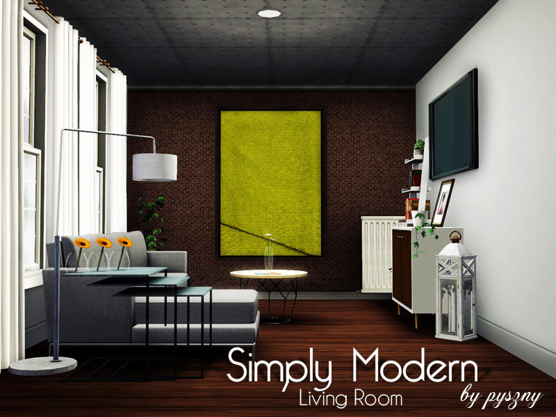 Sims 3 Modern Living Room Ideas   Taraba Home Review