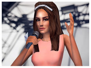 Sims 2 — Lana Del Rey (Festival Performance) by Cleotopia — The singer Lana Del rey performing at the European Festivals.