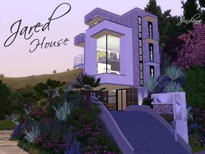 Sims 3 — Jared House by Jindann — Modern Home in Sunset Valley, as the time passing by, Jared and his brother are moving
