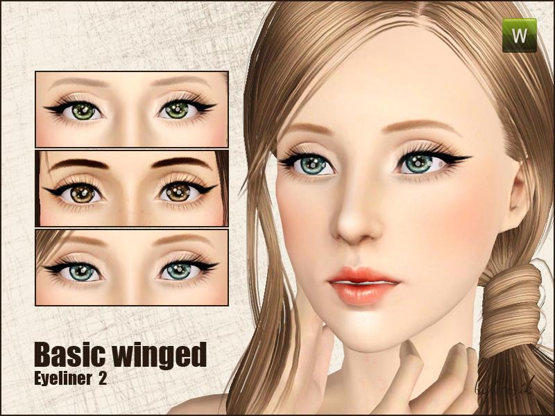 Gosik S Basic Winged Eyeliner Set