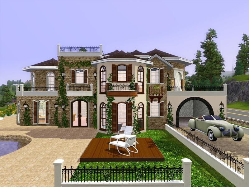 1198802 on Sims 3 House Floor Plans