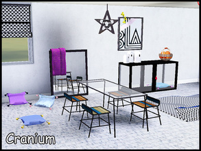 Sims 3 — steffor-cranium by steffor — my first dining room for Sims 3