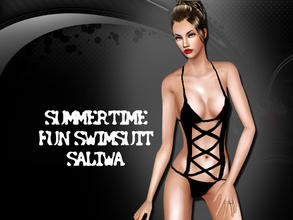 Sims 3 — Summertime Fun Swimsuit by saliwa — Stylish Swimsuit for you. Enjoy.