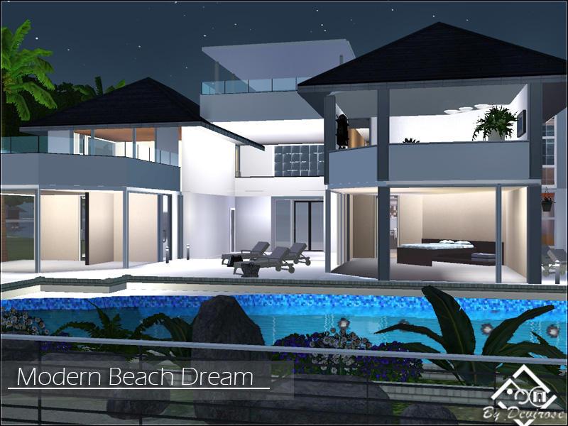 Devirose 39 s modern beach dream for Beach house 3 free download