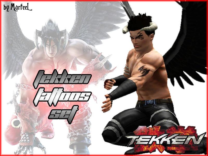 Murfeel S Tekken Inspired Tattoos Set Request
