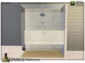 Sims 3 — adamis shower modern by jomsims — adamis shower modern