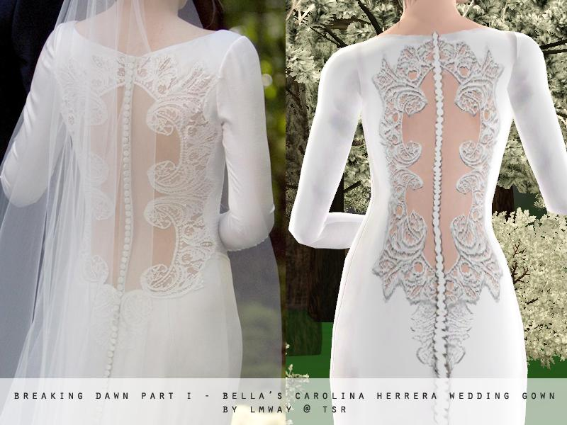 Lmways Breaking Dawn Part I Bella Swans Wedding Gown