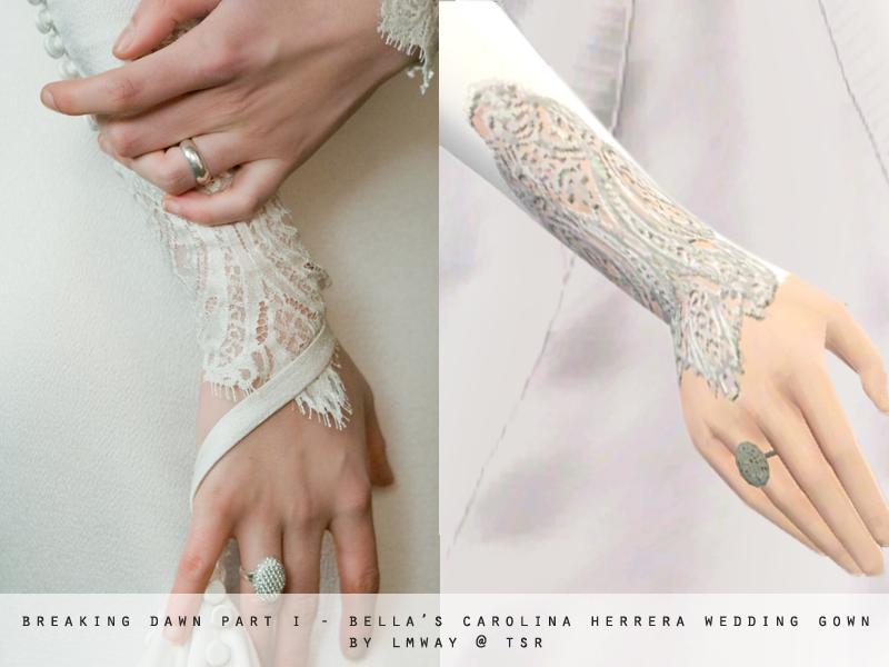 Breaking Dawn Part I Bella Swan S Wedding Gown
