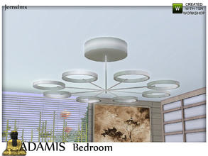 Sims 3 — adamis ceiling light by jomsims — adamis ceiling light