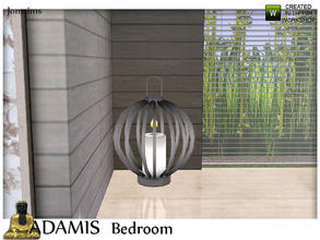 Sims 3 — adamis big  candle by jomsims — adamis big candle