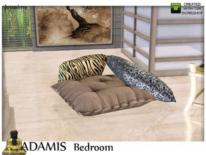Sims 3 — adamis floor deco cushions by jomsims — adamis floor deco cushions