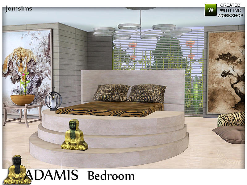 Jomsims ADAMIS Bedroom Suite