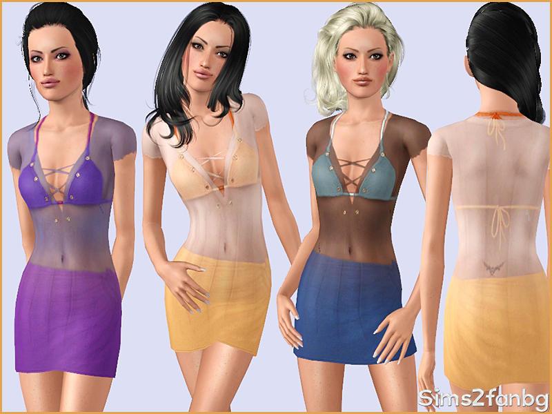 sims 3 flirt skirt swimwear