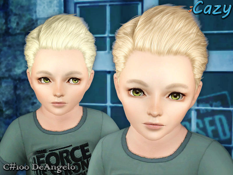 Cazy S Deangelo Hairstyle Toddler
