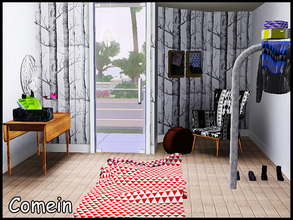 Sims 3 — stefforcomein by steffor — just a small hallway